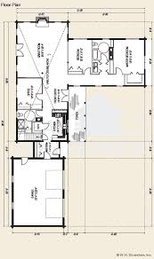 Ranch Style Log Home Floor Plans The Kearney Log Home Floor Plans Nh Custom Log Homes Gooch