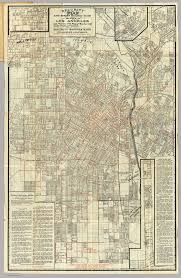 Los Angeles Rail Map by Security Map Of Los Angeles 1908
