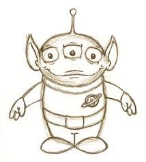 little green alien dude sketch by sirenfoxx on deviantart
