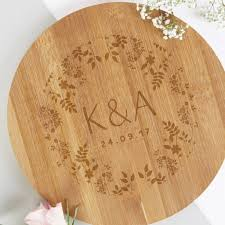 5th wedding anniversary gifts for 5th wedding anniversary gift personalised wooden board by