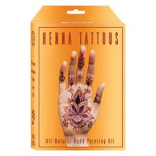 earth henna temporary tattoo kits mehndi body painting buy online