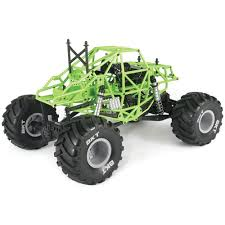 monster jam rc truck bodies amazon com axial ax90055 smt10 1 10th scale grave digger monster