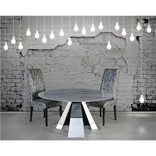 round marble dining table and chairs marble dining sets
