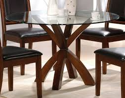 Rectangle Glass Dining Table Set Glass Top Dining Tables With Wood Base Ivory Shade Chandelier
