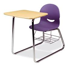 Wire Desk Chair Virco I Q Series Combo Chair Desk With Wire Bookrack