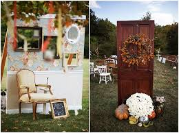 Backyard Fall Wedding Ideas Stephania And Brian S Backyard Wedding With A Touch Of Autumn