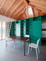 sqm modern simple house design made of wood with steel pipes smart