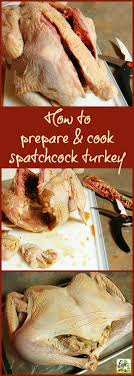 how to prepare and cook a spatchcock turkey this cooks on