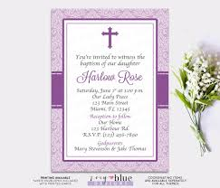 Baptism Invitation Cards Baby Baptism Invitation First Communion Christening