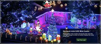 outside tree lights decorations decorative lighted trees