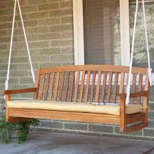 Patio Swing Cushions Blazing Needles 56 X 18 In Outdoor Standard Patio Bench Cushion