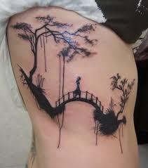 sexiest rib tattoos for
