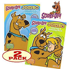 amazon scooby doo coloring book stickers 96 pages