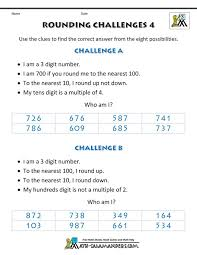 39 best rounding worksheets images on pinterest rounding