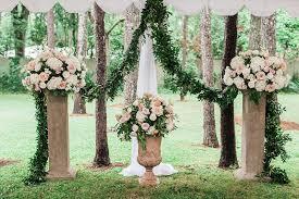 wedding arch rental jackson ms mr mrs buccola a wedding at the cedars in jackson