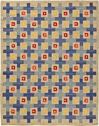 Modern Flat Weave Rugs Item No Bb5802 Circa 1940 Yellow Accents Woven Rug And Wool Rug