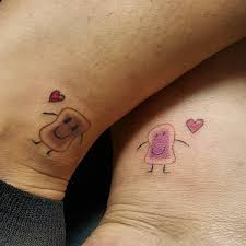 15 couple tattoos that are cooler than wedding rings couple