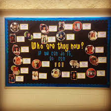our career bulletin board we asked our teachers and staff to