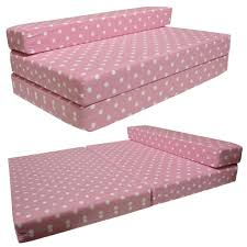 Double Sofa Bed Mattress by Sofabed Pink Spots Double Sofa Bed Chair Futon Amazon Co Uk