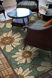 Green And Brown Area Rugs Amazon Com Granville Rugs Monterey Indoor Outdoor Area Rug Blue