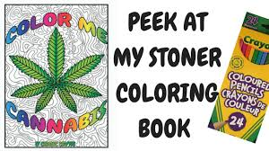 a look at color me cannabis the marijuana themed coloring book for