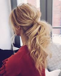 no fuss wedding day hairstyles the 25 best messy ponytail hairstyles ideas on pinterest messy