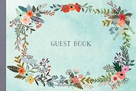 guest book guest book illustrated nature edition charro 9781631061936