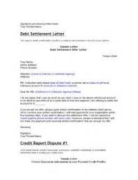 example debt validation settlement amp credit repair letters