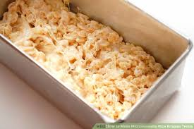 how to make microwaveable rice krispies treats 9 steps