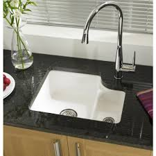 Ceramic Kitchen Sinks Awesome Rectangle Shape Bronze Color Undermount Kitchen Sink With