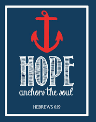 Love Anchors The Soul Wall - hope anchor art quotes