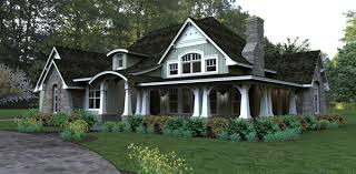 craftsman house plans with basement cottage style single home exterior the house designers