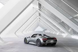porsche finishes production of the 918 spyder