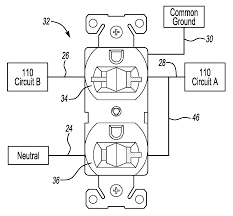patent us20080286995 two plug electrical outlet with dual