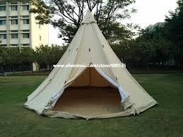 Bell Tent Awning Aliexpress Com Buy Diameter 5m Waterproof Cotton Canvas Bell