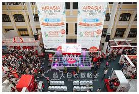airasia travel fair 20150516 airasiax 0003 蓝天白云数格子