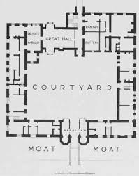 tudor mansion floor plans oxburgh 1482 family castles and architecture