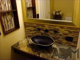 bathrooms glass drop in bathroom sinks decorative drop in