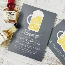 a baby is brewing totally non cheesy baby shower invites and marriage