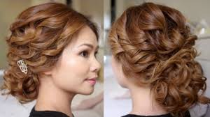 hair tutorial low bridal tousled updo hair tutorial video dailymotion