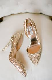 wedding shoes online india glittery sparkly badgley mischka gold pumps weddingshoes s h o