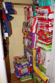 Baby Closets How To Stockpile Diapers For A Baby