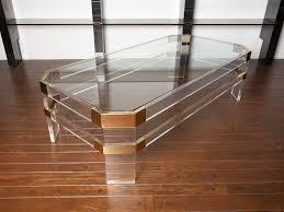 lucite coffee table cute ideas lgilab com modern style house