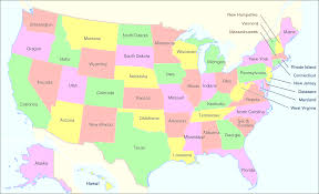 map of the united states showing states and cities map united states showing major cities maps of usa in the all