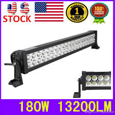 jeep christmas lights 180w led light bar combo beam waterproof ip67 offroad jeep