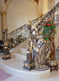 Iron Banister Rails Wrought Iron Interior Hand Rails Railings Works Houston Tx