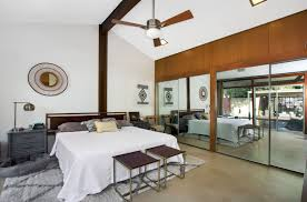 mid century modern house tour master bedroom and bath the days