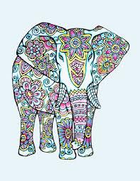 88 elephants images mandalas coloring books