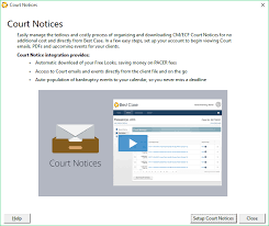 Cm Ecf Help Desk Version 26 Overview U2013 Best Case