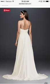 david u0027s bridal ruched bodice chiffon a line wg3856 260 size